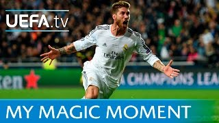 Sergio Ramos goal Real Madrid v Atltico 2014 UEFA Champions League final