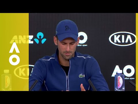 Novak Djokovic's emotional press conference (4R) | Australian Open 2018
