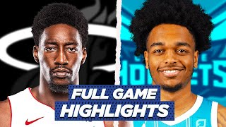 HEAT at HORNETS FULL GAME HIGHLIGHTS | 2021 NBA Season