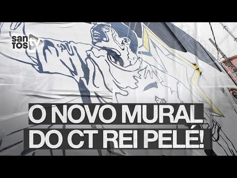ESCOLHA O NOVO MURAL DO CT REI PELÉ!