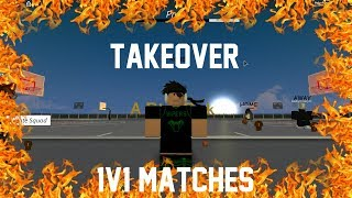 Roblox - AP MY PARK 1v1 matches! Im Taking Over!