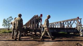 Quitaron el puente camino a Vertiz