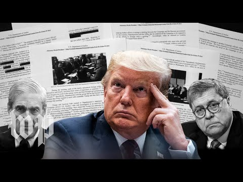 How Mueller and Barr split on obstruction evidence against Trump