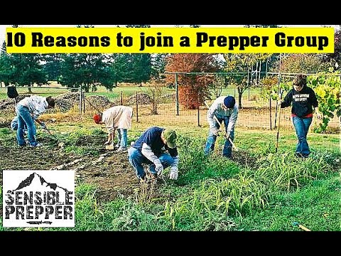 Top 10 Reasons to Join a Prepper Group