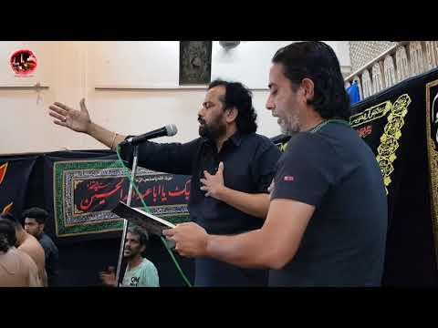Bain Karti Hai Yeh Zahra  - Anjuman E Asghariya Mumbai (Yakub Street) - Waseem Rizvu Live
