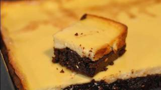 Recette du Brownies Cheesecake! Un dessert