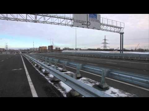 Андрей Чистяков. Путепровод на улице Монтажников частично открыт
