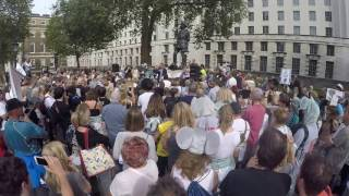 Hugh Fearnley Whittingstall speech at Global March for Elephant & Rhino