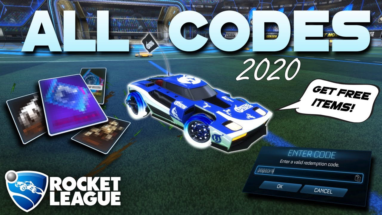 All Free Rocket League Codes 2020 Youtube