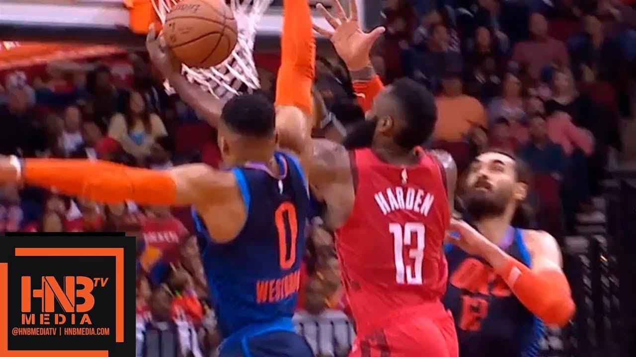 Houston Rockets vs OKC Thunder 1st Half Highlights | 12/25 ...