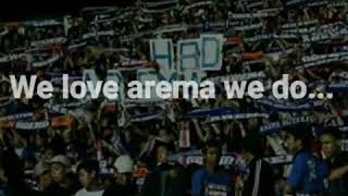 Arema we love you(Lirik)