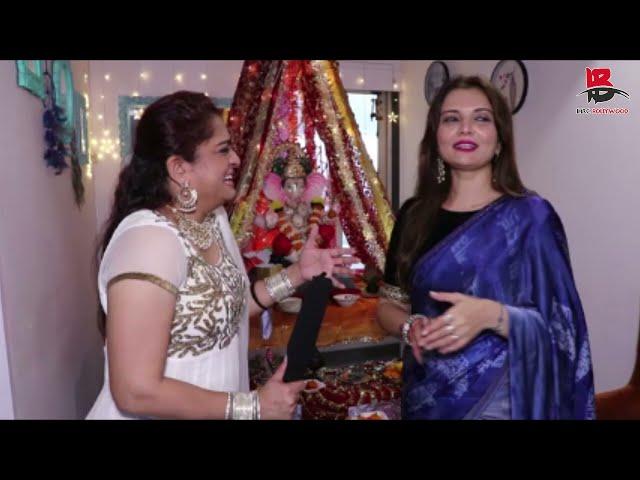 Deepshikha Nagpal on Ganesh Chaturthi with Ekta Jain