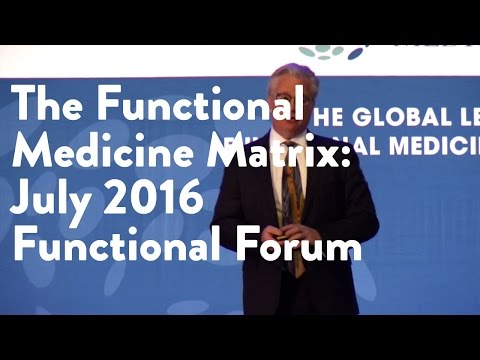 The Functional Medicine Matrix | Functional Forum July 2016