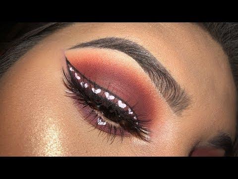 Valentines Makeup Tutorial  Leslie Garza