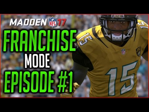 MADDEN 17 FRANCHISE MODE: MOVING THE JAGS TO MEXICO CITY!