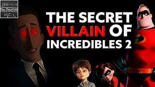 Why the TRUE Villain of Incredibles 2 is STILL HIDDEN! [Theory]