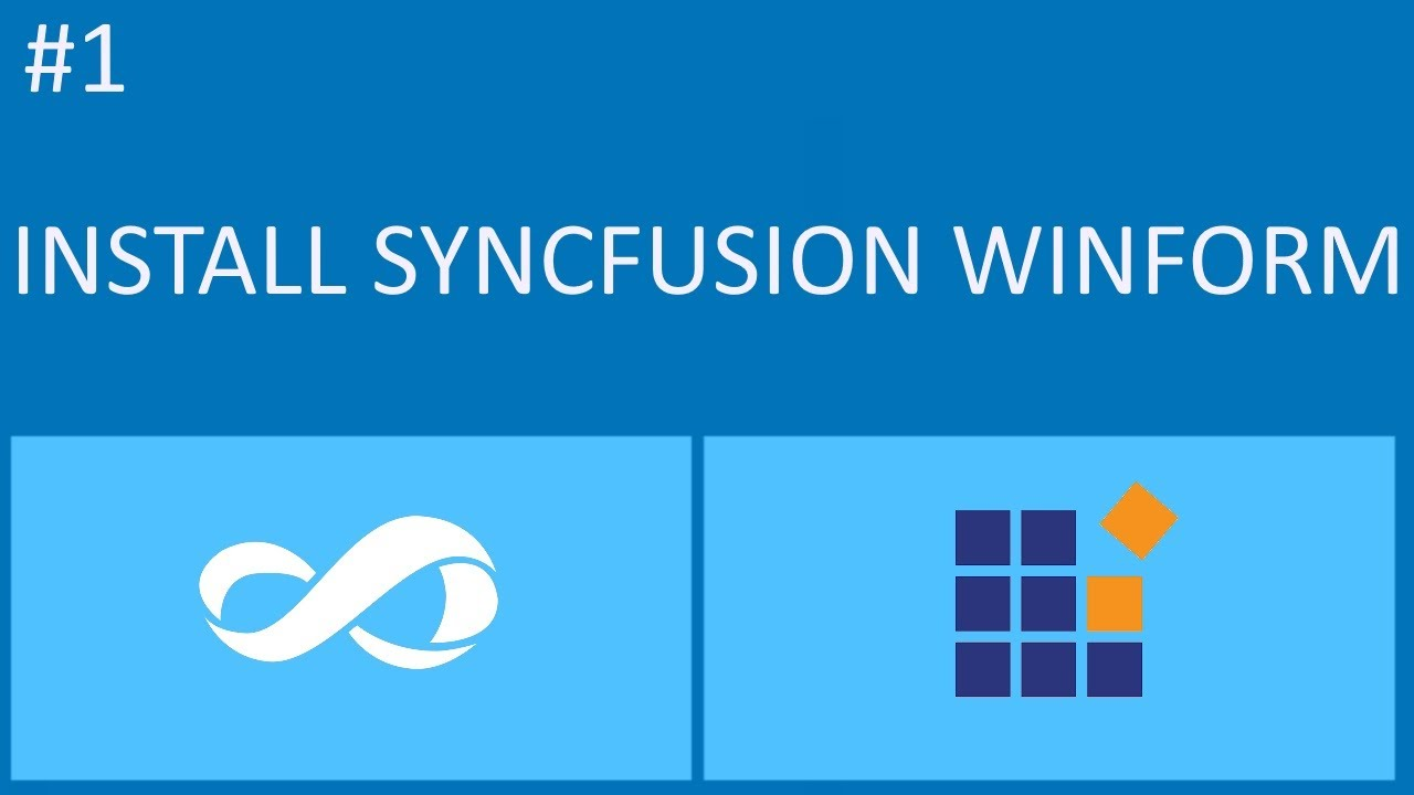 Syncfusion Tutorial #1 - How To Install Syncfusion Component Visual Studio