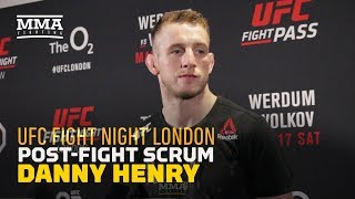 Danny Henry: 'I'm All About Squeezing Necks And Cashing Checks' - MMA Fighting