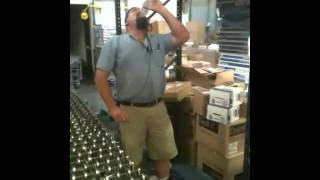 Sooper trooper syrup chugging practice