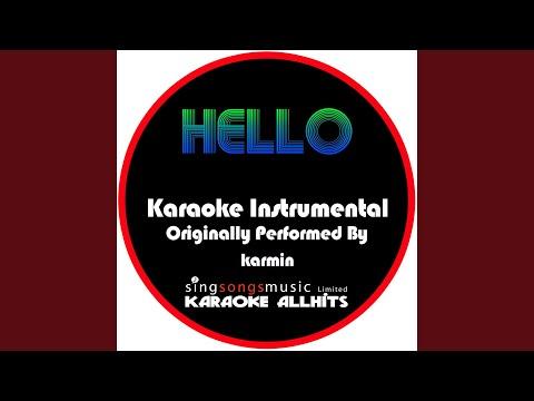 Hello (Originally Performed By Karmin) (Instrumental Version)