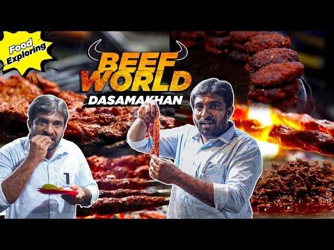 Dashamakan Beef World | Famous Chennai Street Food | Exploring with Jabbar Bhai