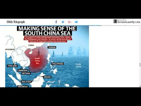 PLAYING WITH FIRE: Australia Asked To Join Patrol In South China Sea -24 Feb 2017