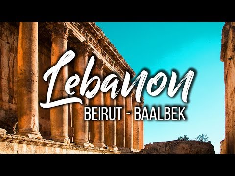 I flew to Lebanon for the Lebanese food and sweets