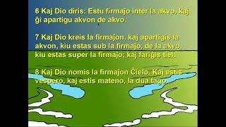 Esperanto with Bible, verses  6-8