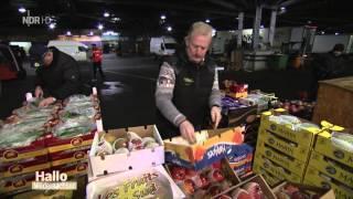 Großmarkt Hannover - Nachtarbeit bei Fruchtimport Hoffmann