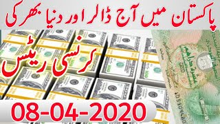 Today US Dollar Rate in Pakistan And Gold Latest News PKR to Dollar Gold Price in Pakistan.8-4-20