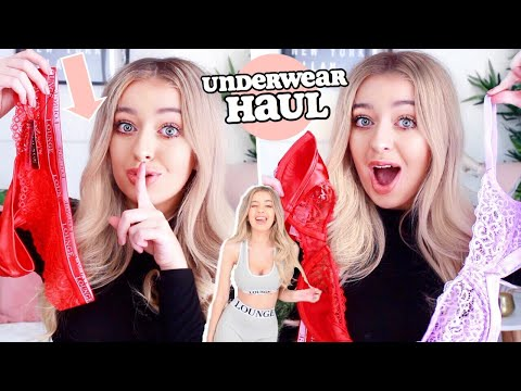 AD UNDERWEAR HAUL?! Testing LOUNGE UNDERWEAR... is it a HIT or a MISS? thumbnail