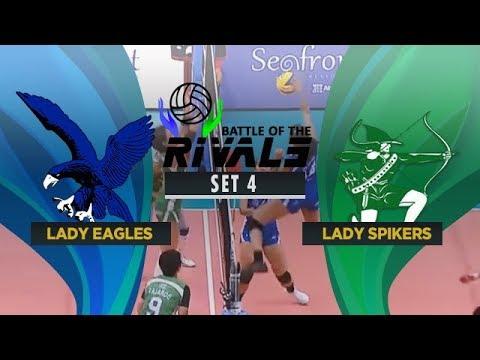 ADMU vs. DLSU   Full Game   4th Set   Battle of the Rivals