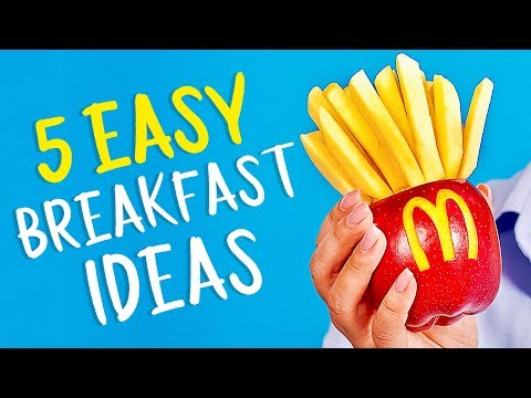 25 DELICIOUS YET EASY BREAKFAST IDEAS FOR KIDS