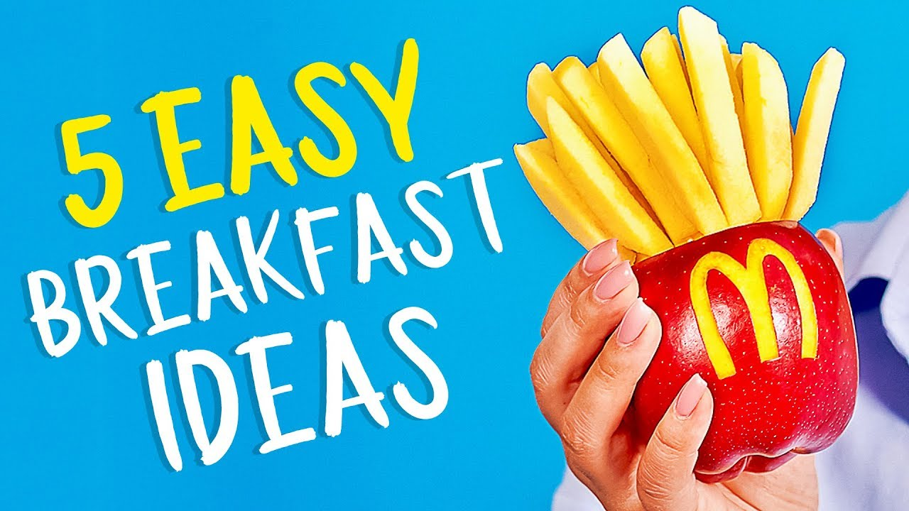 25 DELICIOUS YET EASY BREAKFAST IDEAS FOR KIDS