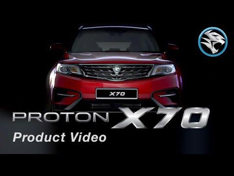 Video Produk Proton X70 (2018)