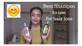 Best Shampoo to use for hair loss