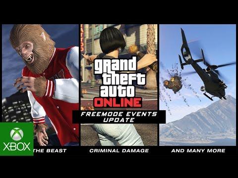 GTA Online Freemode Events Update Trailer