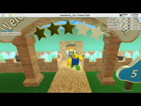 Wat Theme Park Tycoon Hack 999999999999999999 Money O O Youtube