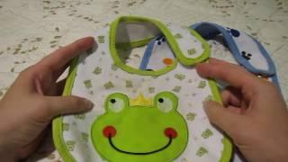 Покупки на алиэкспресс: видео обзор на детские слюнявчики