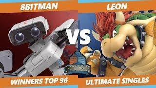 DHATL 2019 SSBU - AMG | 8BitMan (ROB) Vs. SSG | LeoN (Bowser) Ultimate Tournament Winners Top 96