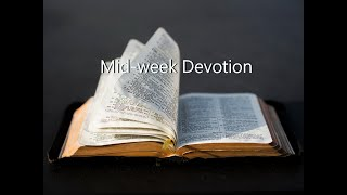 Families: God's Idea and God's Model - Devotion for 8th May