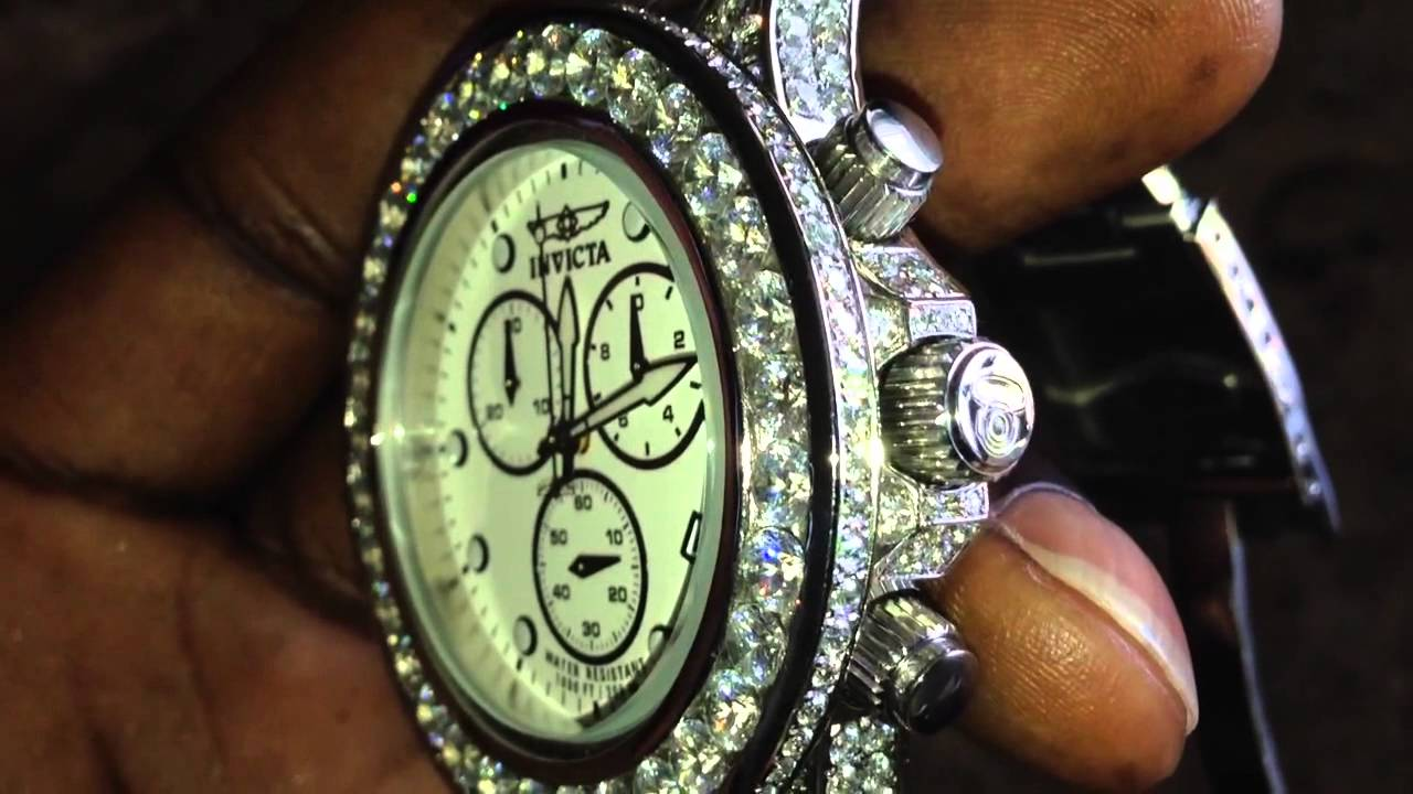 Diamond Face Watch