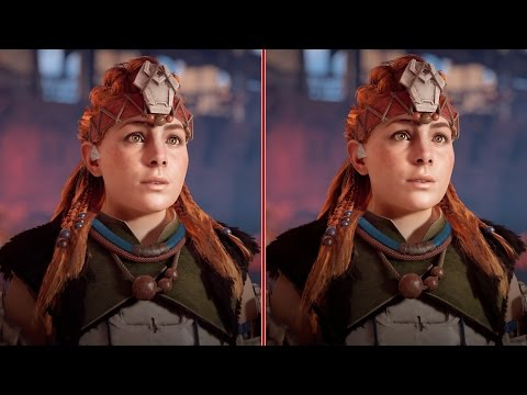 Horizon Zero Dawn Graphics Comparison: PS4 vs. PS4 Pro