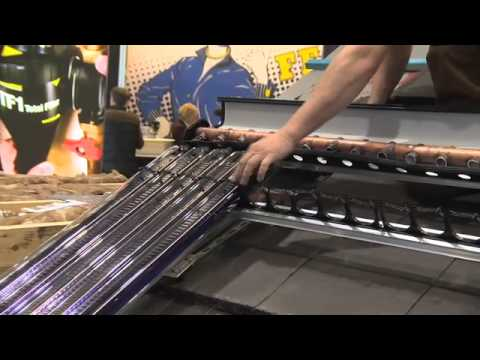 Ecobuild 2014 (Practical Installer) Installing Solar Thermal Evacuated Tubes