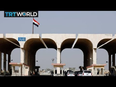 Nasib Border Crossing: Border crossing between Syria and Jordan opens