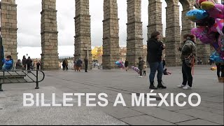 Con billete a México!