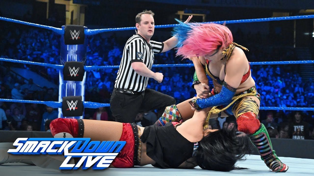 Asuka vs. Billie Kay: SmackDown LIVE, Jan. 15, 2019