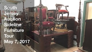 May 7, 2017 Sideline Furniture Tour - South Jersey Auction