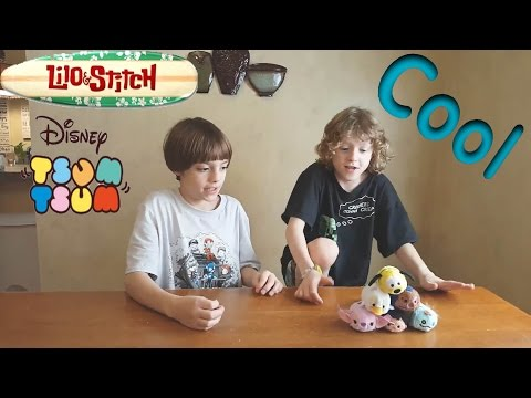 Lilo and Stitch Tsum Tsum Review With the Ugly Duckling and Pluto Too