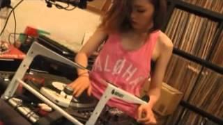 DJ Sara - Scratch Practice 【2015】